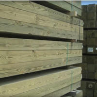 Treated Lumber Stack