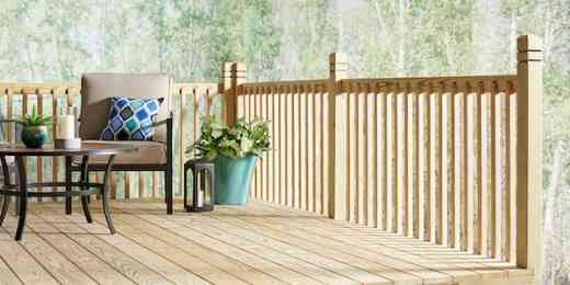 Lowe's Severe Weather treated lumber with Ecolife