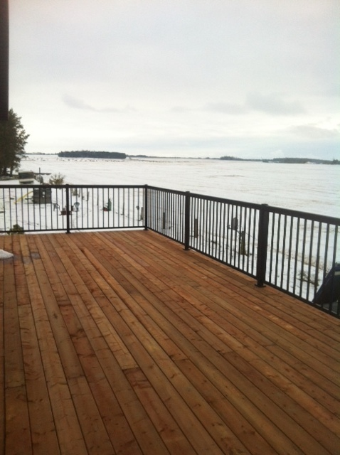 West Fraser Walters Deck Sundre August 2014