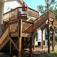 Ecolife 2Nd Story Deck And Stairs